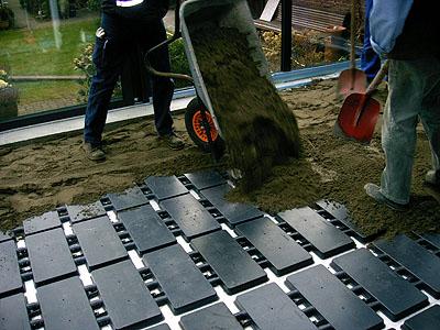wintergarten und fubodenheizung fubodenheizung und wintergarten janen fubodenheizung fr einen. Black Bedroom Furniture Sets. Home Design Ideas