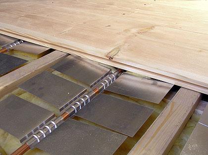 Top Holzdielenboden und Fußbodenheizung, Fußbodenheizung und QR47